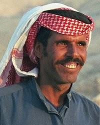 picture of a Bedouin man