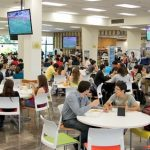 Cafeteria setting