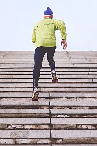 stair climbing training